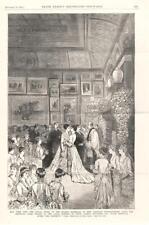 Marriage of Miss Caroline Schermerhorn Astor and Marshall Orme Wilson  - 1884