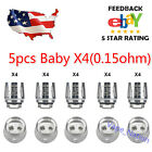 V8 - X4 BABY Smok TFV8 BIG Cloud Beast Replacement Coil 5-15 PCS US FAST SHIP