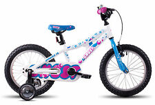 "GHOST Powerkid 16 white/blue/pink 16"" / 16 Zoll Kinderrad Modell"