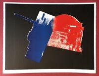 Rudolf Bonvie, 22111, 1987, Farblithographie, 1988, handsigniert u. datiert