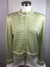 MING WANG 6 M//L Sz New 2Pc Sweater Jacket Set Hand Made in USA Eric Steven