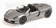 MINICHAMPS 2013 Porsche 918 Spyder Grey Production Edition 1:18*New!