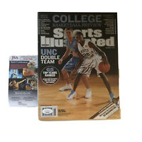 TYLER HANSBROUGH Signed Final Four SPORTS ILLUSTRATED JSA UNC Basketball.