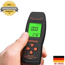 Meterk EMF Meter Digital LCD EMF Detector Electromagnetic Radiation Test K J1B6
