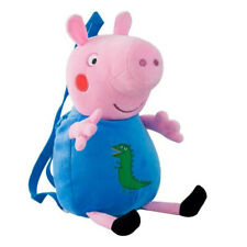 Peppa Pig George Fashionable Cute Plush Children Backpack - Super soft Fabric