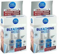 Perlweiss Hollywood Bleaching Weiss Aufheller+Aktivator+Skala 2xStk(203G)