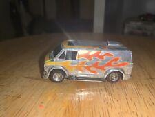 Vintage TYCO Chrome Van Slot Car