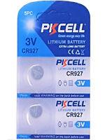 2 x CR927 3V Lithium Knopfzelle 30 mAh ( 1 Blistercard a 2 Batterien ) PKCELL