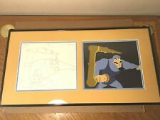 Gummi Bears Production cel and matching drawing