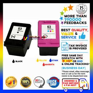 NoN-OEM 63 63XL Ink for HP Deskjet 1110 2130 2131 3630 3632 Officejet 3830 4650