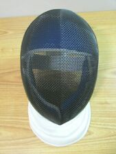 FENCING HELMET MASK WHITE BLACK BLUE
