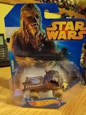 EXCELLENT MATTEL HOT WHEELS STAR WARS CHEWBACCA WOOKIE CAR/TRUCK MINT & CARDED