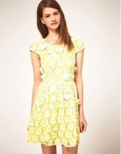 ASOS Embroidered Lace Skater Dress Size US 2