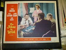 THE JOKER IS WILD, orig 1957 LC #7 [Frank Sinatra, Mitzi Gaynor]  poker chips