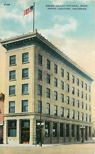 Grand Junction Colorado~Grand Valley National Bank~1910 Postcard
