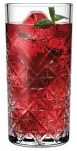 Pasabahce 52800 TIMELESS Longdrinkglas 450ml Glas transparent 12 Stück