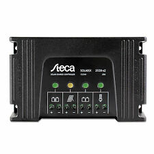 Steca Solarix 20A dual battery solar charge controller for 12V / 24V batteries