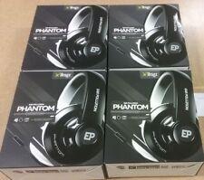 Wholesale Deal: Lot of 4 Phantom Headphones by iFrogz W/ Mic Black