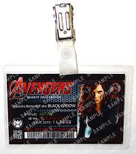 Marvel Avengers ID Badge Black Widow Superhero Cosplay Costume Prop Comic Con