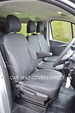Renault Traffic Sportive Crewcab 3rd gen van seat covers