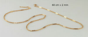 60 cm 18k Gold Filled Cable Link Chain