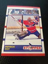 Patrick Roy Canadiens 1990-1991 Score Stopper #344