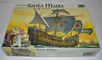 1969 Revell Santa Maria Plastic Ship Model Kit #H-336