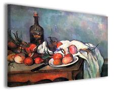 Quadri famosi moderni Paul Cezanne vol VII stampa su tela canvas arredo poster