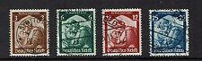 "GERMANY/ DEUTSCHES REICH 1934 #565-568 xfu """" E223e"
