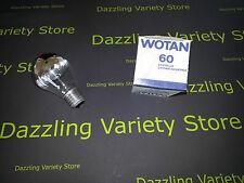 1 x Wotan 60W E27 ES CORONA con Lampada Lampadina 240V lotto OdL Regno Unito di vendere