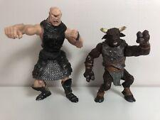"DISNEY Chronicles Of Narnia Minotaur + Cyclops 6"" Hasbro 2005 Walden Figures"
