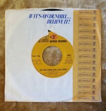 "TINY TIM America I Love You/On The Good Ship Lollipop 7"" 45RPM, REPRISE 0837"