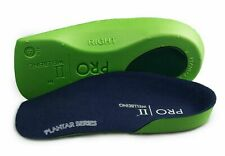 Slim fit 3/4 orthotic insoles with arch support fallen arches over pronation
