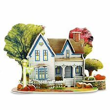 3D Architecture Houses Jigsaw Puzzles For Kids Handmade Creative Assemble Dre...