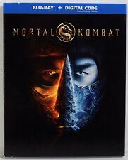 Mortal Kombat (2021) Blu-ray, Digital Code, Slipcover, New Sealed, Free Shipping