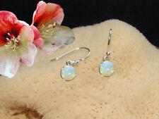 Ohrringe mit Opal Triplette Ohrhänger echt 925 Sterling Silber BC36