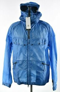 C.P. (CP) Company NWT Nyber Goggle Explorer Jacket Size M 50 in Solid Ocean Blue