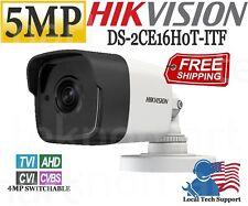 Hikvision 5MP Mini Bullet Camera DS-2CE16H0T-ITF TurboHD 2.8mmIR 20m D-WDR IP67