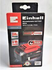 Einhell  Power X-Change PLUS Li-Ion Ersatz Akku Batterie 18 V 5,2 Ah 70A! OVP