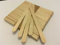 1000 pack PLAIN natural wood wooden lolly sticks, for craft, ice lollipops