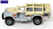 Matchbox Jurassic World Sahara Survivor Land Rover [Exclusive set car]-New/Loose
