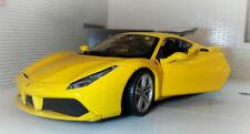 Voitures, camions et fourgons miniatures jaunes Bburago pour Ferrari