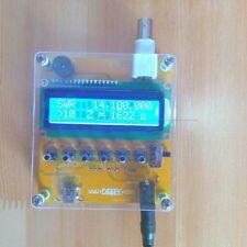 MR100 Shortwave ANT SWR Antenna Analyzer Meter Tester 1-60M For Ham Radio 12Vdc