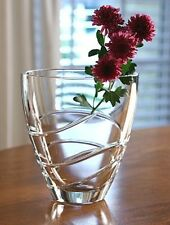 Waterford Crystal Ballet Ribbon Collectors Crystal Centerpiece Vase (BRAND NEW