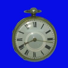 Napoleonic  Gilt Fusee Verge KW Greaves of Birmingham Pocket Watch 1810