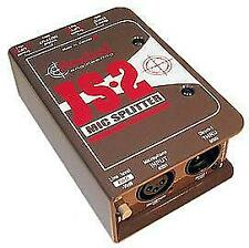 Radial Js2 Two-way Microphone Splitter, New!