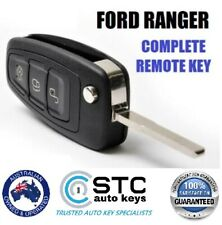 Complete Key FORD  PX RANGER FOCUS MONDEO REMOTE FLIP KEY FOB  2011 -  2015