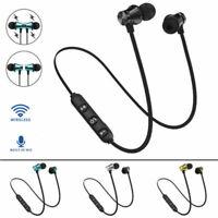 In-Ear Earbuds Headphone Bluetooth 4.2 Stereo Earphone Headset Wireless Magnetic