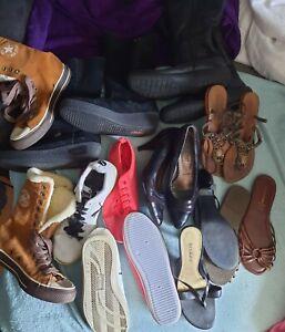 Schuhpaket 38 9 paar Puma Converse usw.