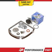 Timing Chain Kit Water Oil Pump for 00-08 Toyota Celica Chevrolet 1.8 1ZZFE